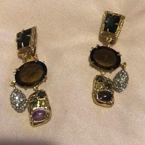 Alexis Bittar chandelier earrings